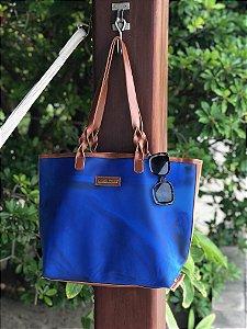 Bolsa Azul Dupla Plástico Impermeável
