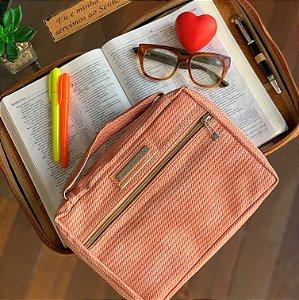 bolsa para bíblia Tie Dye rosa