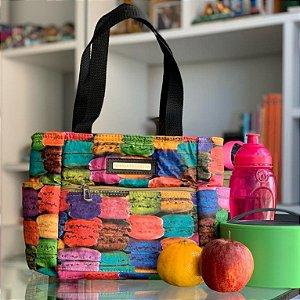 Bolsa térmica estampa macarons fit