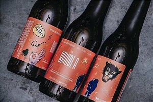 Um Brinde a Elas - Amber Ale com Laranja - 355ml