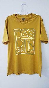 Camiseta Unissex Mostarda