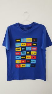 Camiseta Cervejeira Unissex Azul