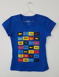 Camiseta Cervejeira Feminina - Azul