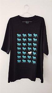 Camiseta Unissex - Grade de Dogs