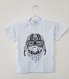 Camiseta Infantil - Dog Motoqueiro