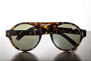 Óculos de Sol Redondo - Feminino - Oncinha