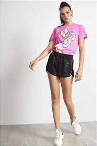 Camiseta Colcci Disney Margarida Feminina