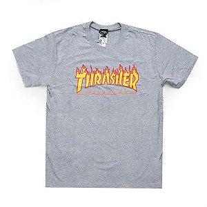 Camiseta Thrasher Flame Logo Masculina