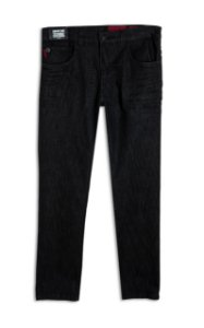 Calça Ellus Black Comfort Slim 9 Ly Masculina