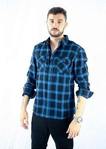 Camisa Ellus Xadrez Gear Light Wool Touch 50 Masculina