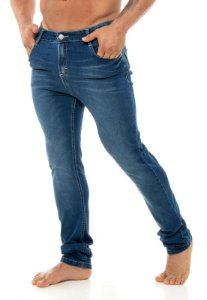 Calça Red Feather Blue Jeans Skinny Masculina