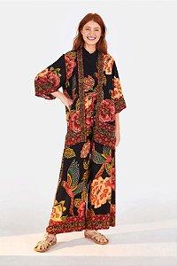Kimono Farm Floral Yawanawa Feminino