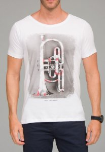Camiseta Red Feather  Therapy Masculina