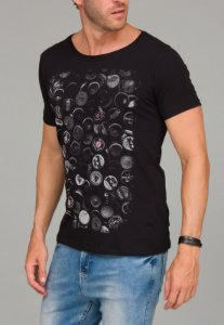 Camiseta Red Feather Beer Caps Masculina