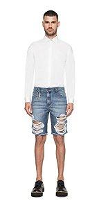 Bermuda Ellus Jeans Galaxy Denim (rock) Destroyed Masculina