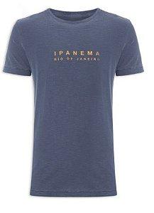 Camiseta Osklen Slim Rough Ipanema Masculina