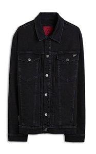 Jaqueta Ellus Jeans Intense Black Masculina Preta