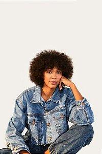 Jaqueta Farm Jeans A Fio Feminina