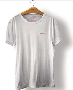 Camiseta Osklen Stone Osk +5521 Masculina Branca