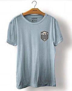 Camiseta Osklen Stone Brasão Masculina Pacifico