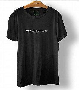 Camiseta Osklen Vintage Forest Masculina Preto