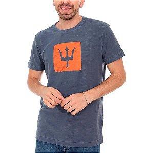 Camiseta Osklen Rough Slim Surfing Trindente Masculina