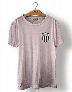 Camiseta Osklen Stone Brasão Masculina Malva