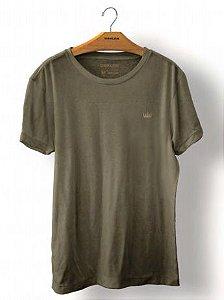 Camiseta Osklen Stone Coroa Colors Masculina Verde
