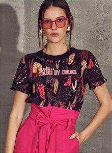 Camiseta Colcci Segredo Da Noite Feminina
