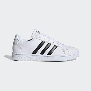 Tênis Adidas Grand Court Base Feminina Branco EE7968