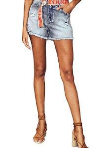 Short Colcci Jeans Tay Com cinto Feminino