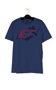 Camiseta Ellus Fine Easa Tropical Masculina Lilás