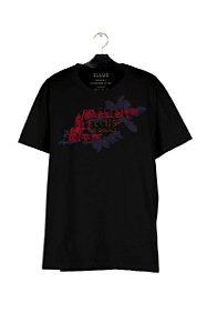 Camiseta Ellus Fine Easa Tropical Masculina Preta