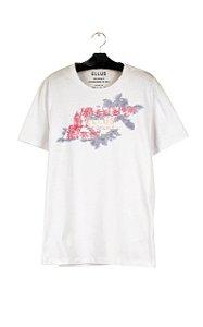 Camiseta Ellus Fine Easa Tropical Masculina Branca
