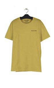 Camiseta Ellus Jeans Deluxe Masculina Amarela