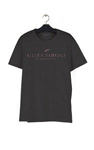 Camiseta Ellus Fine Essentials Easa Masculina Preta