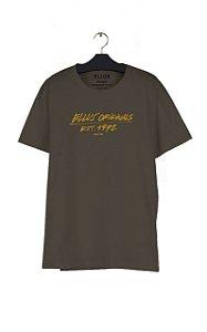 Camiseta Ellus Originals Ref Classic Masculina Marrom