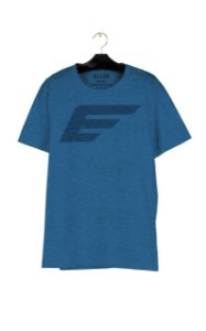 Camiseta Ellus Melange Maxi Easa Masculina Azul