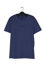Camiseta Ellus Fine Originals Light Masculina Azul