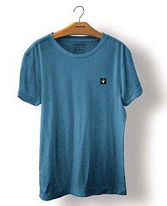 Camiseta Osklen Big Shirt Tridente Masculina Atlântico