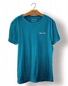 Camiseta Osklen Stone Osk +5521 Masculina Azul
