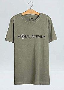 Camiseta Osklen Stone Vintage Global Activism Masculina