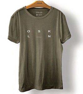 Camiseta Osklen Vintage Osk Rj Masculina