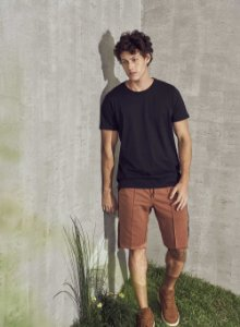 Camiseta Colcci Masculina Preto