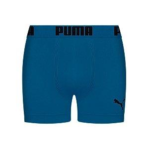 Cueca Boxer Puma algodão Elastano Azul