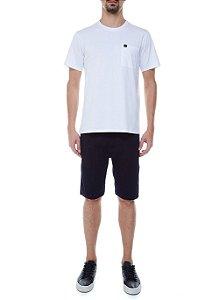 Camiseta John John Lisa Pocket Basic Masculina Branca