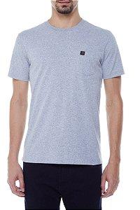 Camiseta John John Lisa Pocket Basic Masculina Mescla