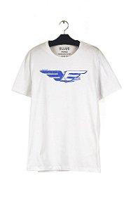 Camiseta Ellus Classic Espelhado Masculina Branca