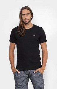Camiseta Colcci Canelada Masculina Preto