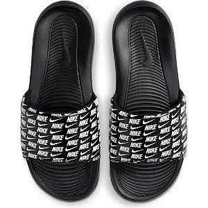 Chinelo Nike Victori Slide Print Masculino Preto